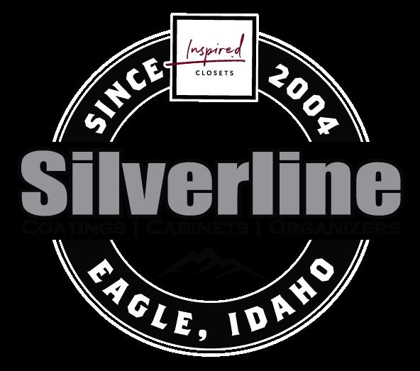 Silverline Garage epoxy coatings boise idaho cabinets garage storage logo